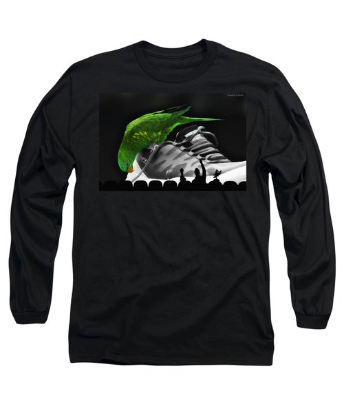 Long Sleeve T-Shirt featuring the photograph Fun Digital Art 01 by Kevin Chippindall