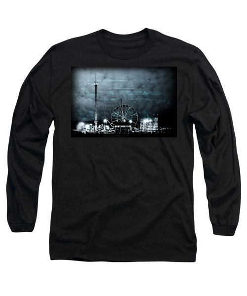 Fun In The Dark - Jersey Shore Long Sleeve T-Shirt