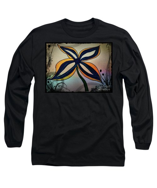 Funky Flower Long Sleeve T-Shirt