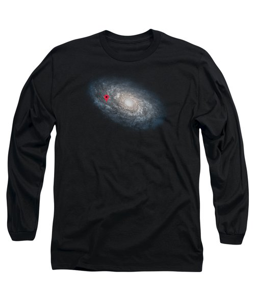 Funny Astronomy Universe  Nerd Geek Humor Long Sleeve T-Shirt by Philipp Rietz