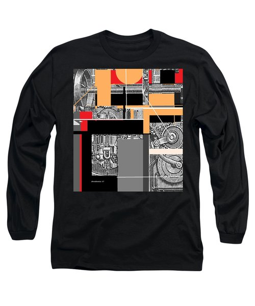 Furnace 2 Long Sleeve T-Shirt by Andrew Drozdowicz