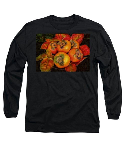 Fuyu Persimmons Long Sleeve T-Shirt