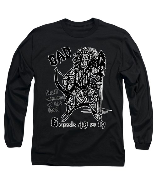 Gad At The Last-white Trim Long Sleeve T-Shirt