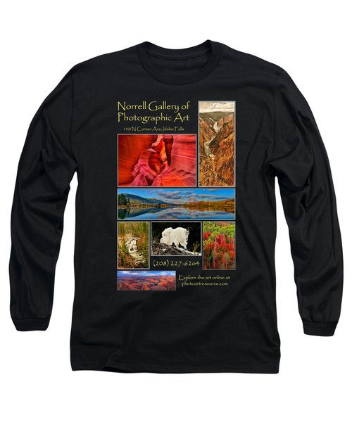 Gallery Ad Long Sleeve T-Shirt by Greg Norrell