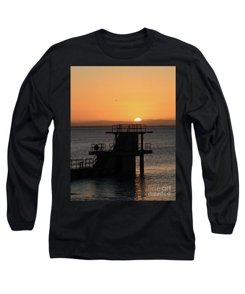 Galway Bay Sunrise Long Sleeve T-Shirt