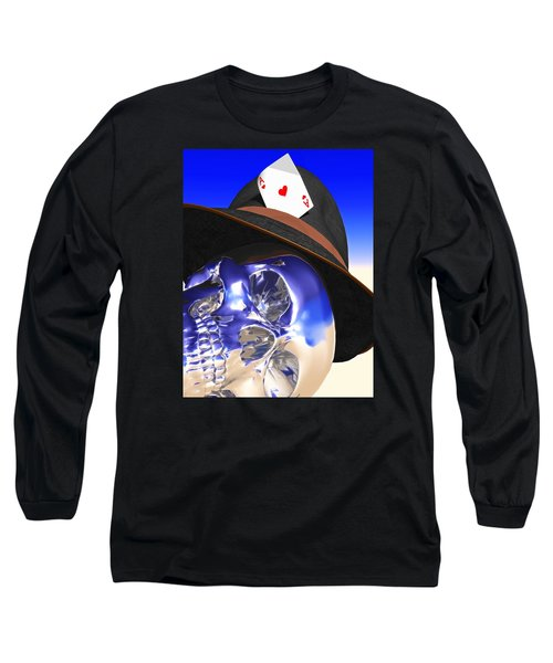 Game Over Long Sleeve T-Shirt by Andreas Thust