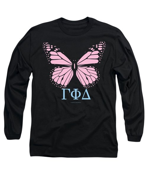 Gamma Phi Delta Classy Butterfly  Long Sleeve T-Shirt