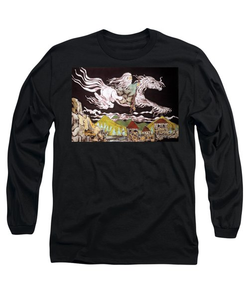 Gandalf And Shadowfax Long Sleeve T-Shirt