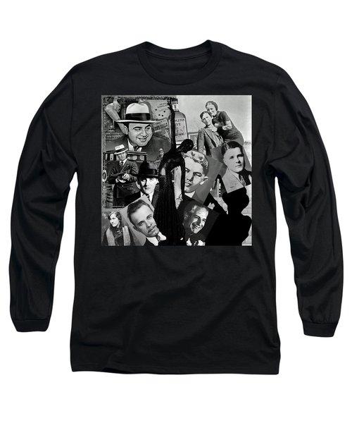 Gangland Long Sleeve T-Shirt by Ellen Henneke