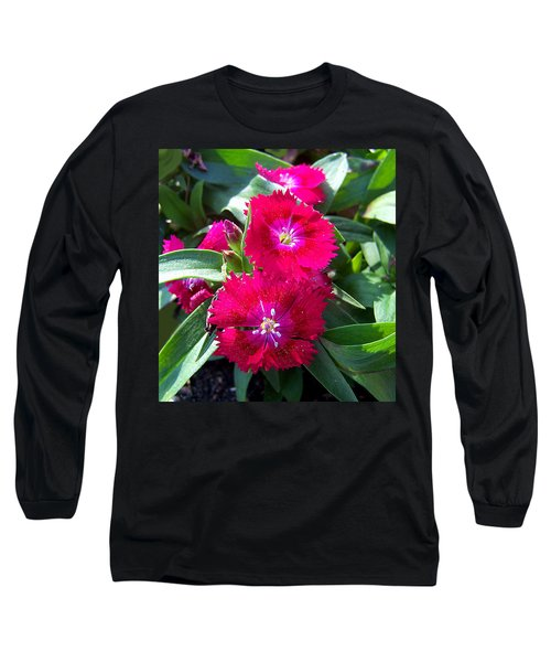 Long Sleeve T-Shirt featuring the photograph Garden Delight by Sandi OReilly