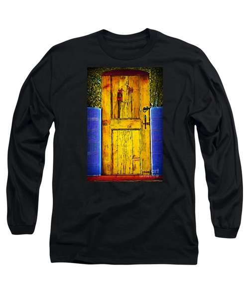 Garden Door Long Sleeve T-Shirt by Kirt Tisdale
