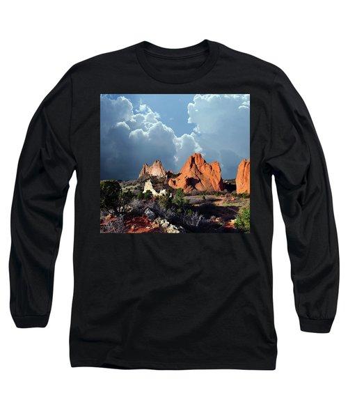 Garden Of The Gods Beauty Long Sleeve T-Shirt by John Hoffman