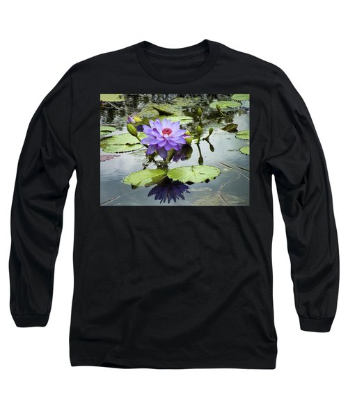 Garden Reflaections Long Sleeve T-Shirt