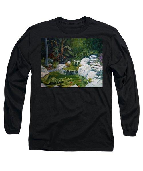 Garden Retreat Long Sleeve T-Shirt