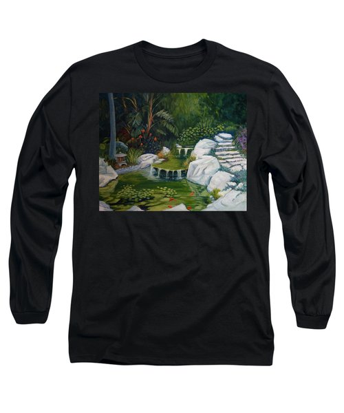 Garden Retreat Long Sleeve T-Shirt