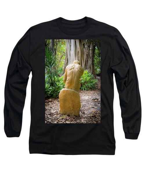 Garden Sculpture 2 Long Sleeve T-Shirt
