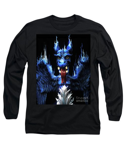 Long Sleeve T-Shirt featuring the photograph Gargoyle by Jim and Emily Bush