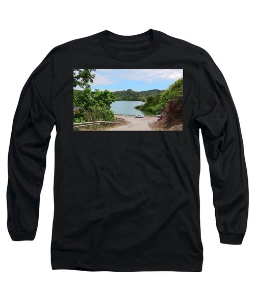 Garzas Lake Road Long Sleeve T-Shirt