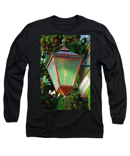 Gas Lantern Long Sleeve T-Shirt by Donna Bentley