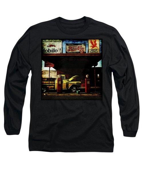 Gas Station No3 Long Sleeve T-Shirt