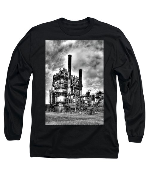 Gasworks Park, Seattle, Wa Long Sleeve T-Shirt