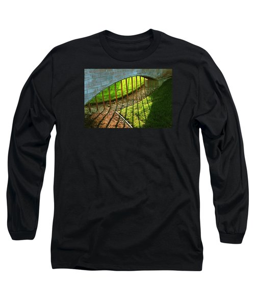 Long Sleeve T-Shirt featuring the photograph Gate-redemption by Joseph Hawkins