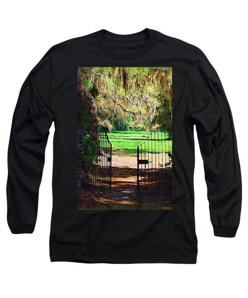 Gate To Heaven Long Sleeve T-Shirt by Donna Bentley