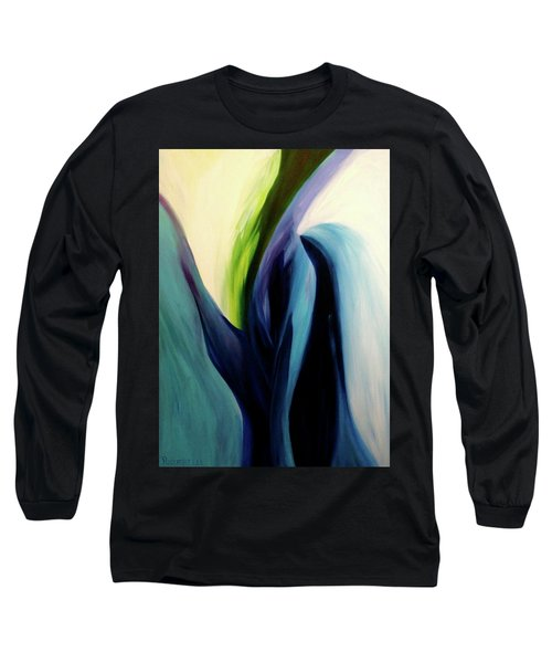 Gate To The Garden  By Paul Pucciarelli Long Sleeve T-Shirt