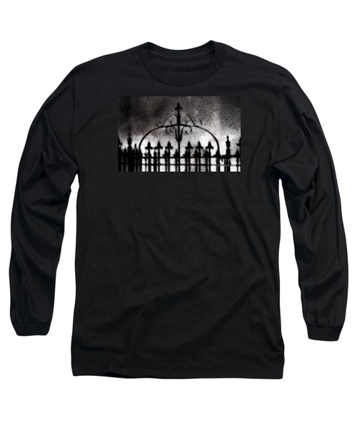 Gated Long Sleeve T-Shirt by Linda Shafer