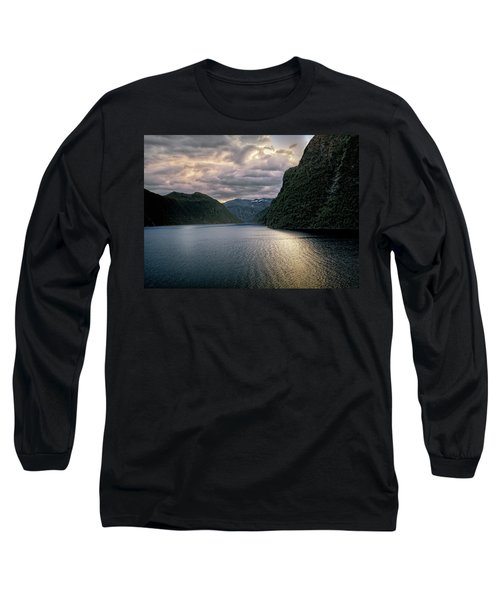 Geiranger Fjord Long Sleeve T-Shirt by Jim Hill