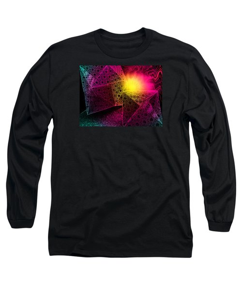 Long Sleeve T-Shirt featuring the photograph Geometric Mystery by Shawna Rowe