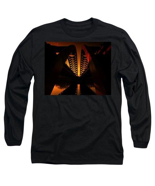 Geometry In Steel Long Sleeve T-Shirt