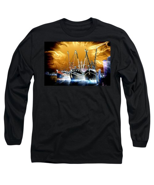 Georgetown Fantasy Shrimpers Long Sleeve T-Shirt