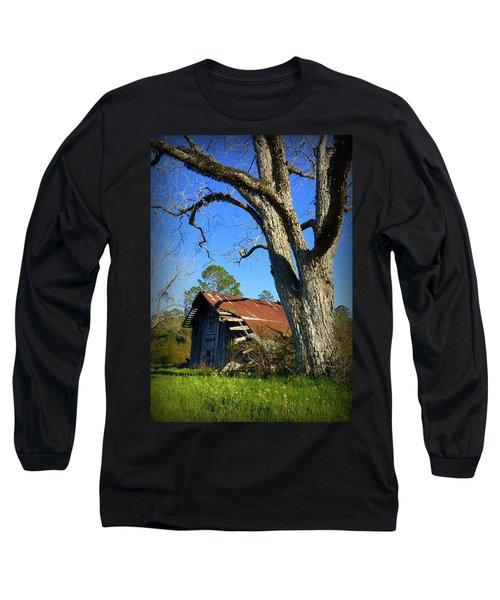 Georgia Barn Long Sleeve T-Shirt