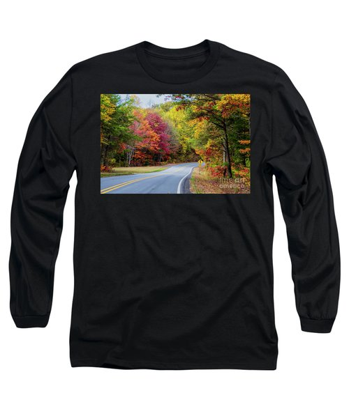 Georgia Scenic Byway Long Sleeve T-Shirt