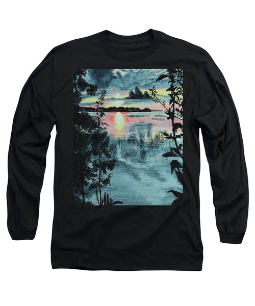 Georgian Bay Sunset Long Sleeve T-Shirt