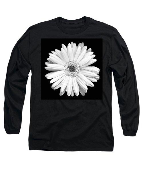 Single Gerbera Daisy Long Sleeve T-Shirt