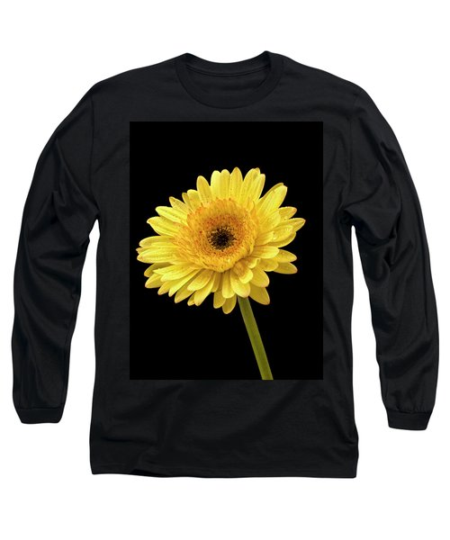 Gerbera Portrait Long Sleeve T-Shirt