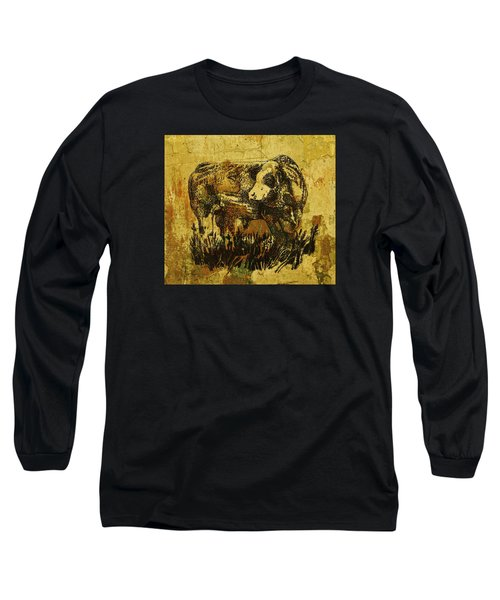 German Fleckvieh Bull 21 Long Sleeve T-Shirt
