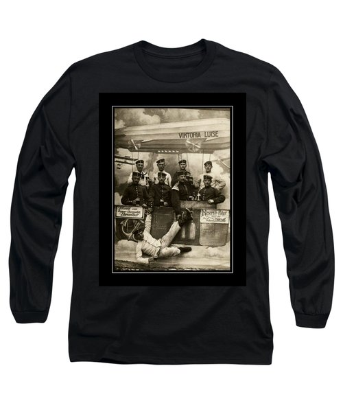 German Military Officers Zeppelin Crew 1913 Long Sleeve T-Shirt