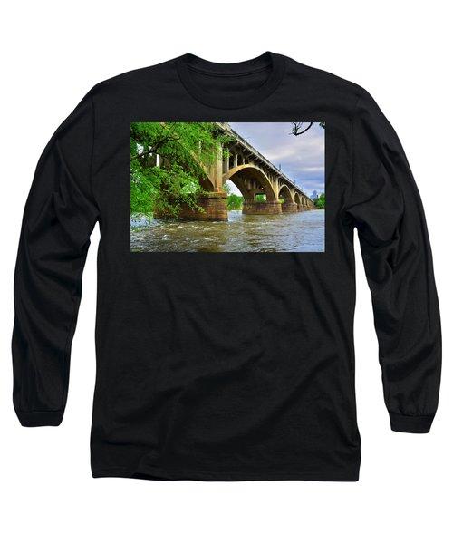 Gervais Street Bridge Long Sleeve T-Shirt