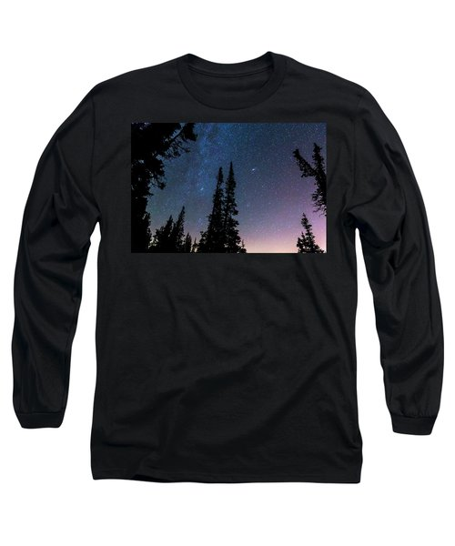 Long Sleeve T-Shirt featuring the photograph Getting Lost In A Night Sky by James BO Insogna