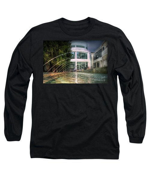 Getty Architecture Museum Los Angeles California  Long Sleeve T-Shirt