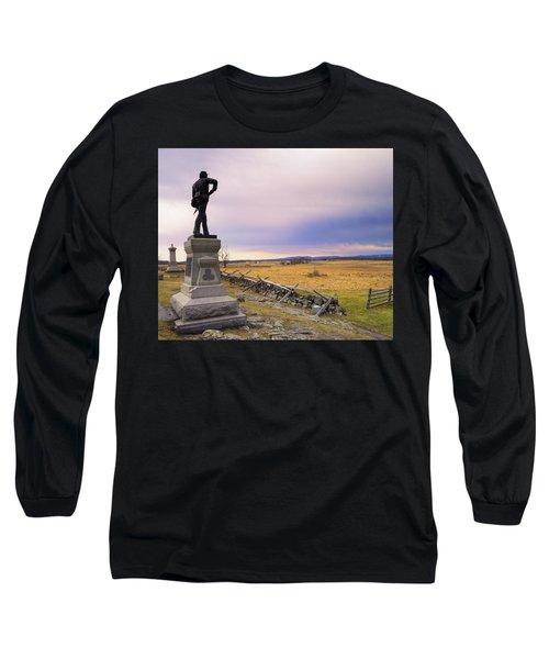 Gettysburg Monument I Long Sleeve T-Shirt