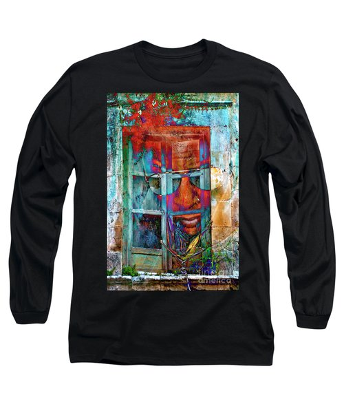 Ghost Goes Through Wall Long Sleeve T-Shirt