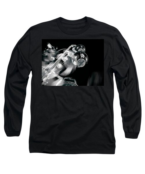 Long Sleeve T-Shirt featuring the photograph Ghost In The Machine by Wayne Sherriff