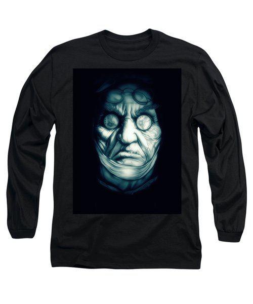 Ghost Marley Long Sleeve T-Shirt by Fred Larucci
