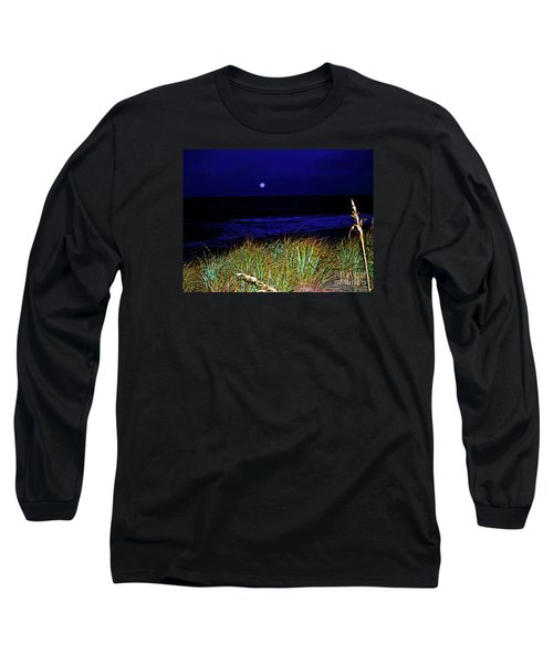 Ghost Moon Long Sleeve T-Shirt