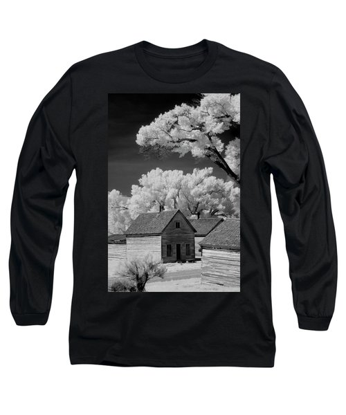 Ghost Town Bannack, Mt  Long Sleeve T-Shirt