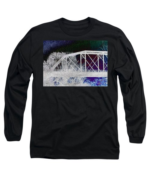 Ghostly Bridge Long Sleeve T-Shirt